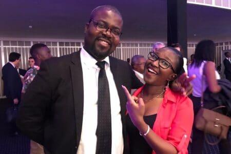 Yasmine Fofana and Kojo-Bentum Williams of Voyages Afriq